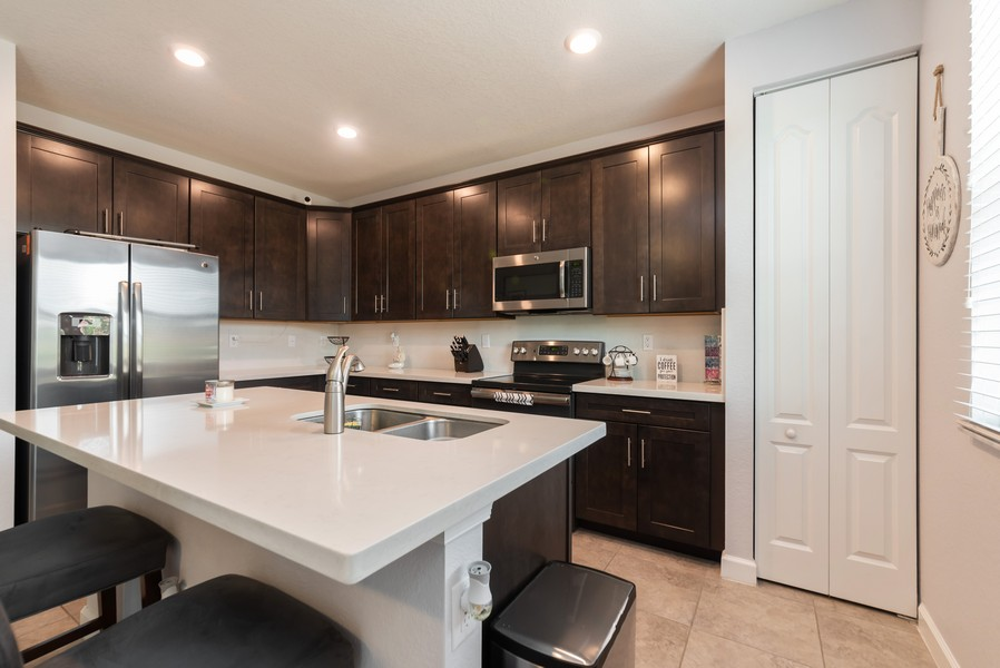 Real Estate Photography - 13010 Anthorne Lane, Boynton Beach, FL, 33436 - Kitchen
