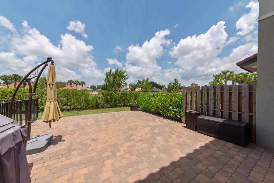 Real Estate Photography - 13010 Anthorne Lane, Boynton Beach, FL, 33436 - Patio