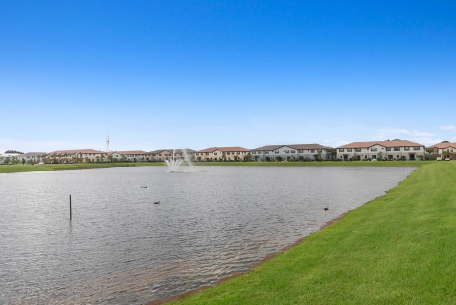 Real Estate Photography - 13010 Anthorne Lane, Boynton Beach, FL, 33436 - Lake View