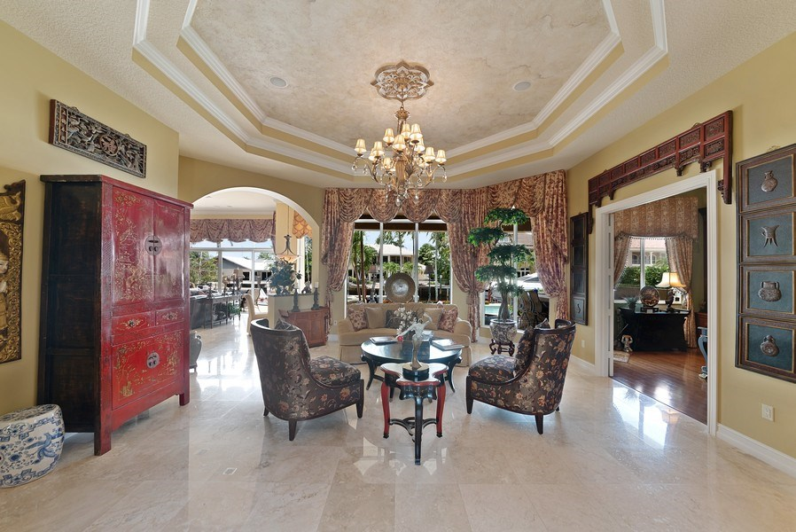 Real Estate Photography - 939 Hyacinth Drive, Delray Beach, FL, 33483 - Living Room