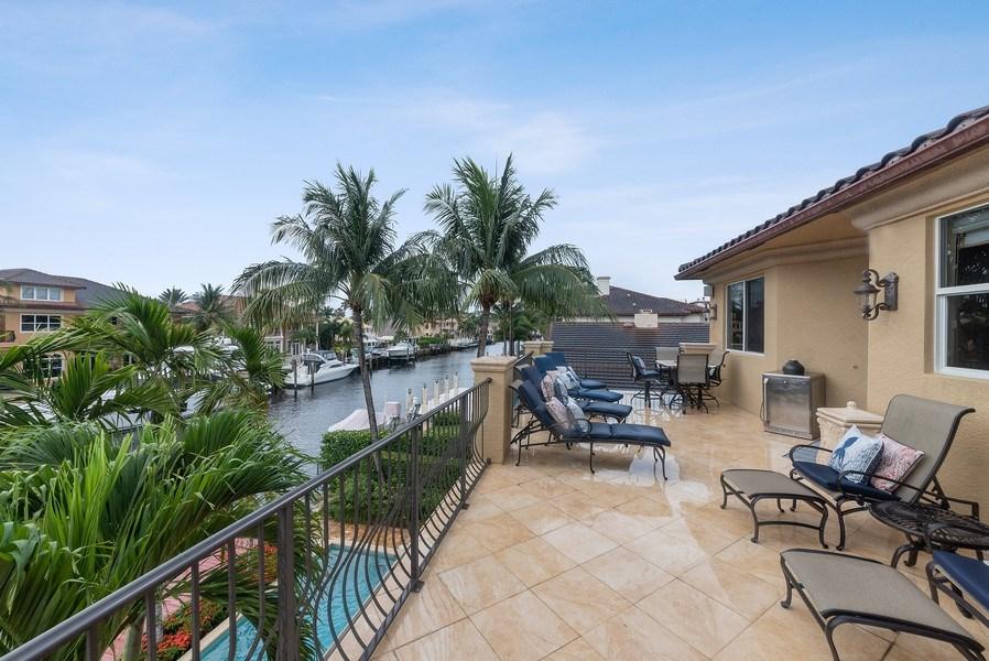 Real Estate Photography - 939 Hyacinth Drive, Delray Beach, FL, 33483 - Terrace