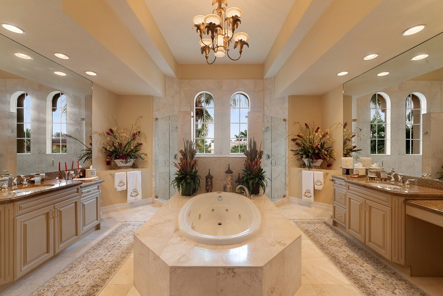 Real Estate Photography - 939 Hyacinth Drive, Delray Beach, FL, 33483 - Master Bathroom