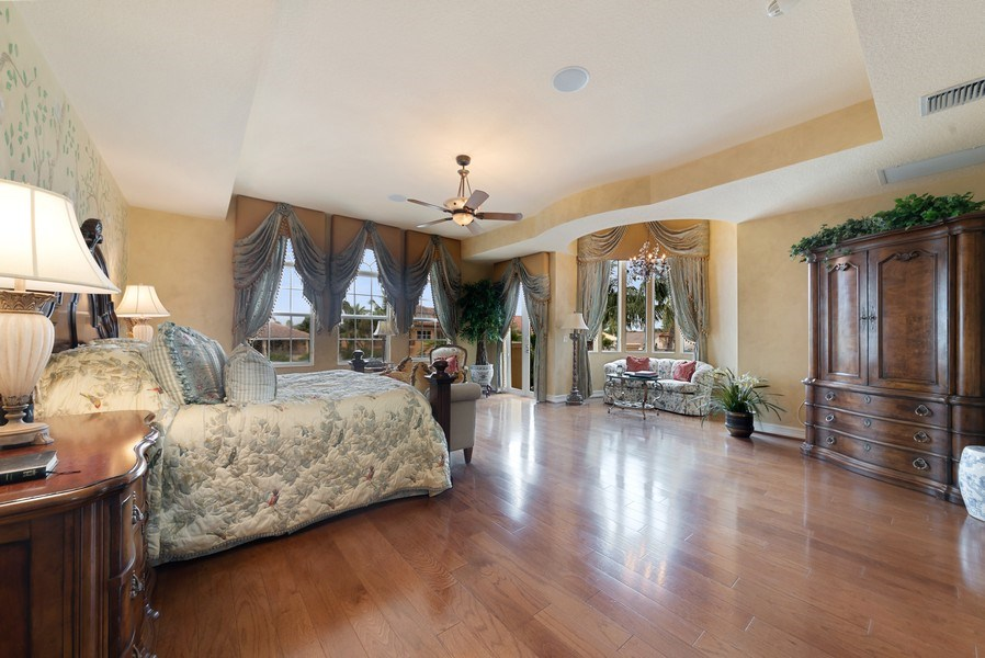 Real Estate Photography - 939 Hyacinth Drive, Delray Beach, FL, 33483 - Master Bedroom