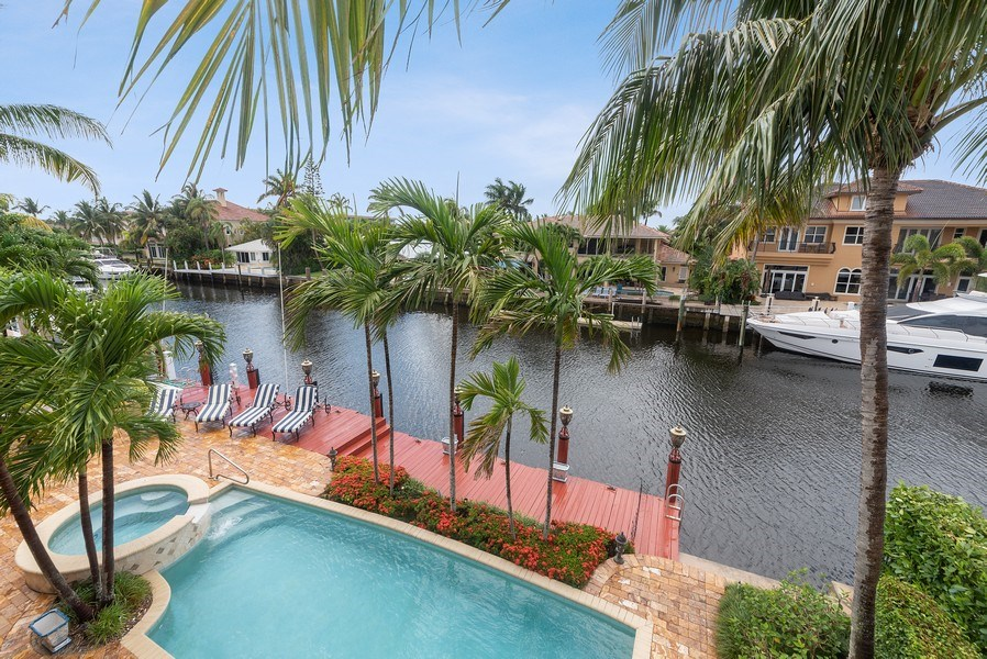 Real Estate Photography - 939 Hyacinth Drive, Delray Beach, FL, 33483 - Intracoastal View