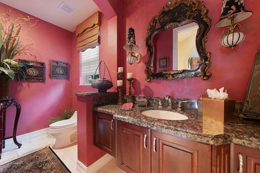 Real Estate Photography - 939 Hyacinth Drive, Delray Beach, FL, 33483 - Powder Room