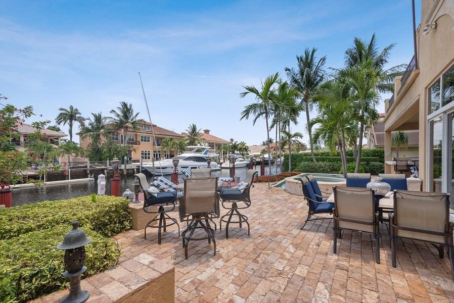 Real Estate Photography - 939 Hyacinth Drive, Delray Beach, FL, 33483 - Back Yard