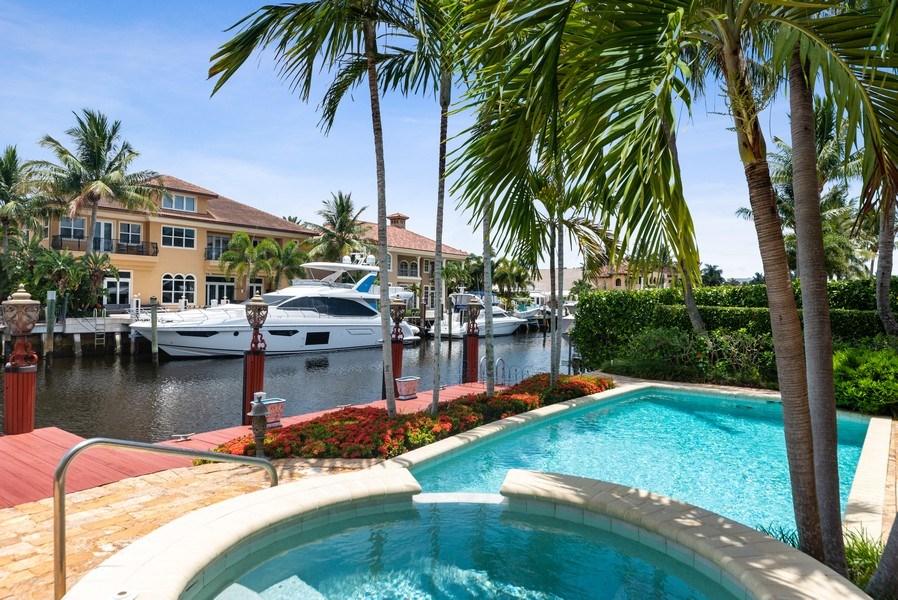 Real Estate Photography - 939 Hyacinth Drive, Delray Beach, FL, 33483 - Pool