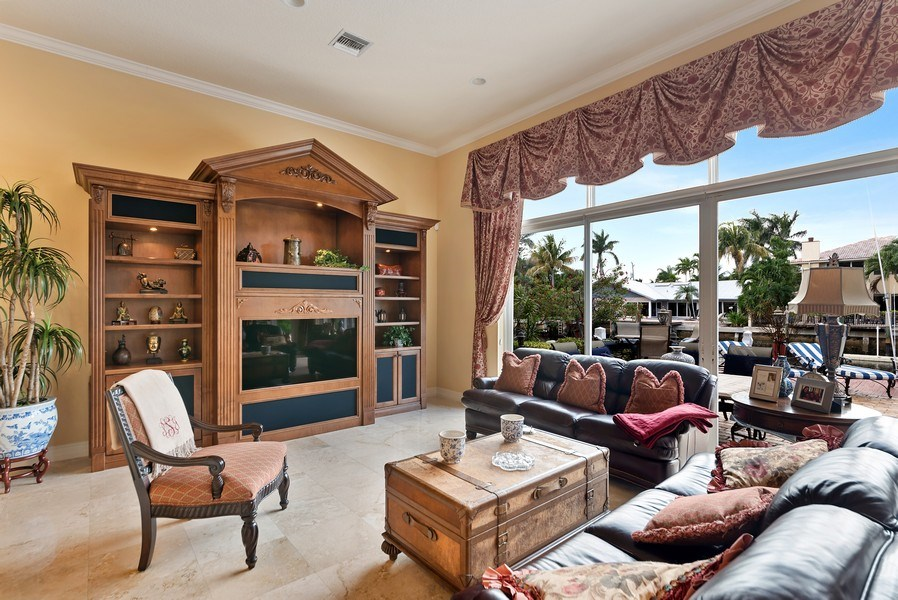 Real Estate Photography - 939 Hyacinth Drive, Delray Beach, FL, 33483 - Family Room