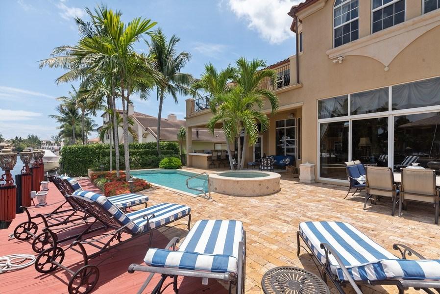 Real Estate Photography - 939 Hyacinth Drive, Delray Beach, FL, 33483 - Sundeck