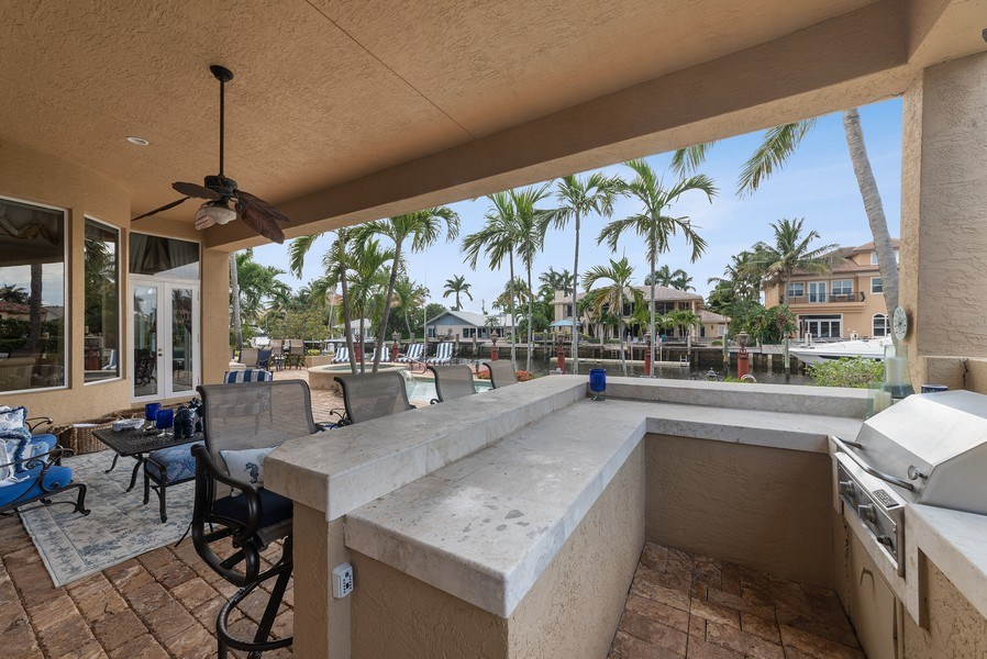 Real Estate Photography - 939 Hyacinth Drive, Delray Beach, FL, 33483 - Barbeque / Picnic Area
