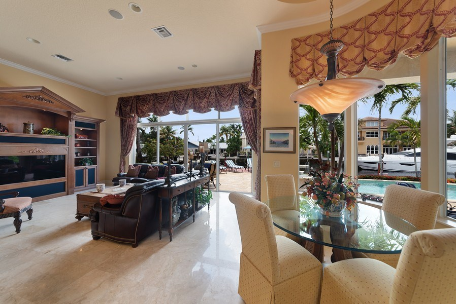 Real Estate Photography - 939 Hyacinth Drive, Delray Beach, FL, 33483 - Breakfast Area