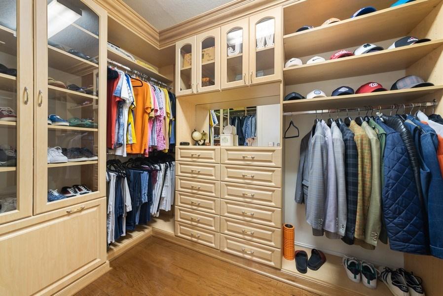 Real Estate Photography - 939 Hyacinth Drive, Delray Beach, FL, 33483 - Master Bedroom Closet