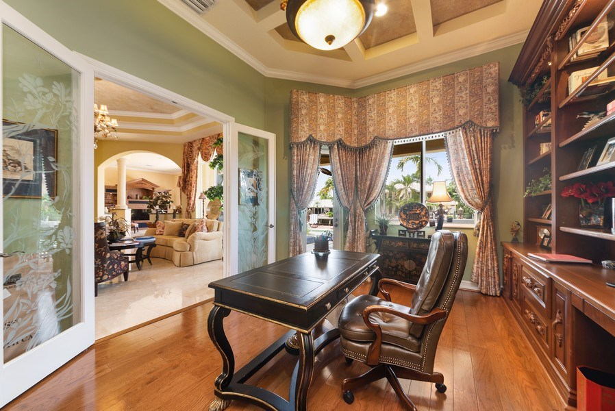 Real Estate Photography - 939 Hyacinth Drive, Delray Beach, FL, 33483 - Office