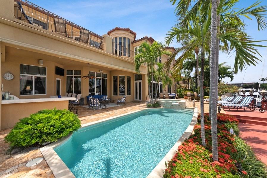 Real Estate Photography - 939 Hyacinth Drive, Delray Beach, FL, 33483 - Rear View
