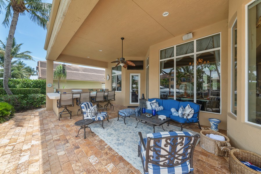 Real Estate Photography - 939 Hyacinth Drive, Delray Beach, FL, 33483 - Patio