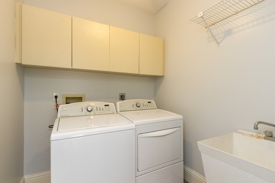 Real Estate Photography - 6436 Via Rosa, Boca Raton, FL, 33433 - Laundry Room