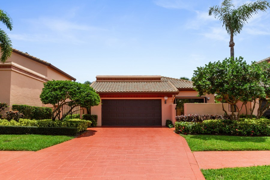 Real Estate Photography - 6436 Via Rosa, Boca Raton, FL, 33433 - Front View