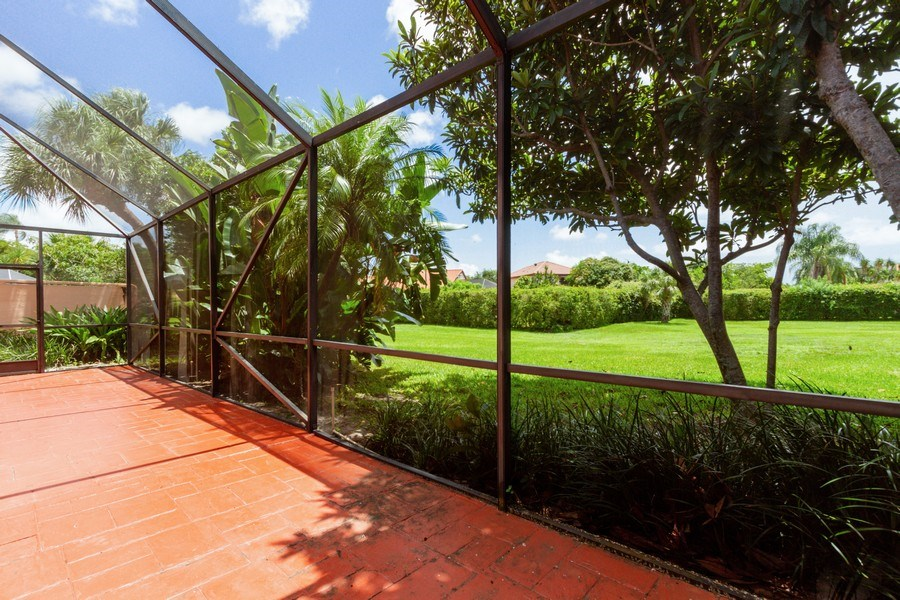 Real Estate Photography - 6436 Via Rosa, Boca Raton, FL, 33433 - Patio