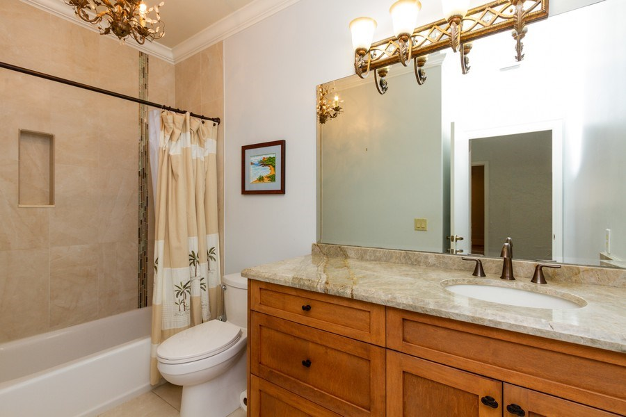 Real Estate Photography - 6436 Via Rosa, Boca Raton, FL, 33433 - 2nd Bathroom