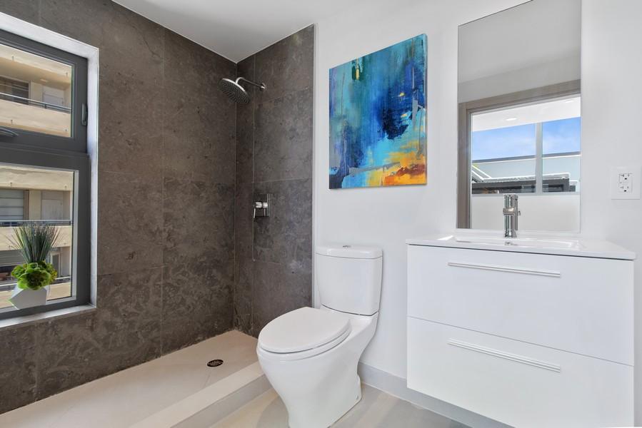 Real Estate Photography - 9501 Collins Avenue, TH-2, Surfside, FL, 33154 - 4th Bathroom