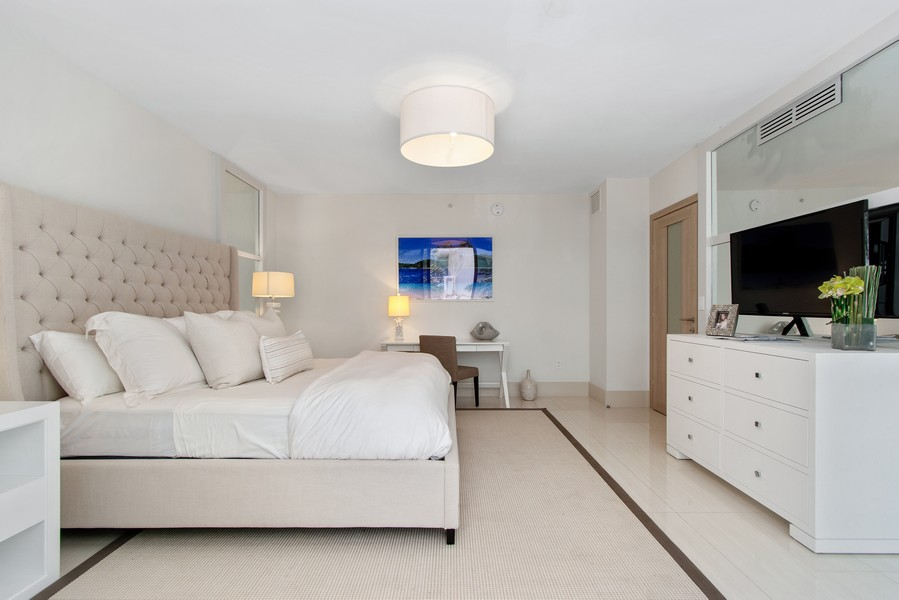 Real Estate Photography - 9501 Collins Avenue, TH-2, Surfside, FL, 33154 - 2nd Bedroom