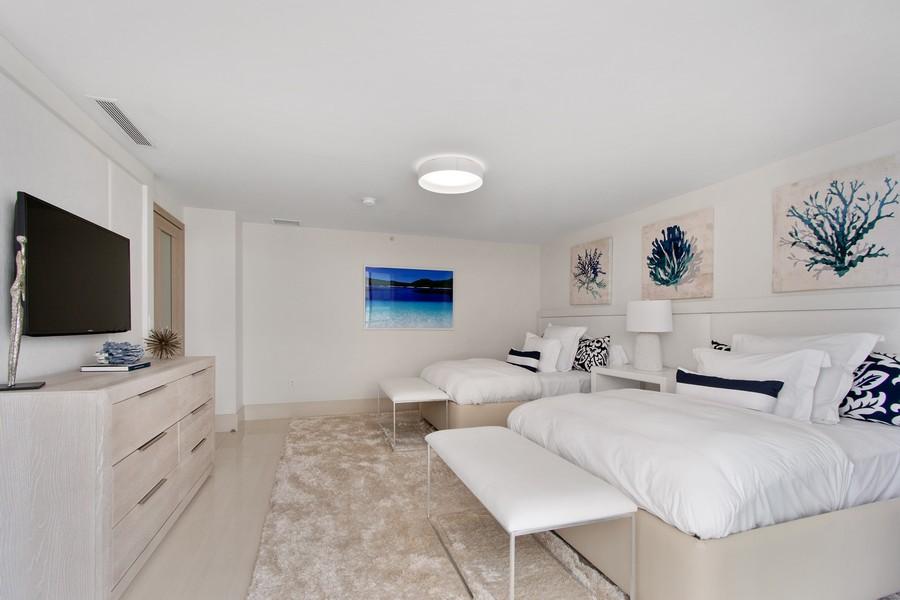 Real Estate Photography - 9501 Collins Avenue, TH-2, Surfside, FL, 33154 - 3rd Bedroom