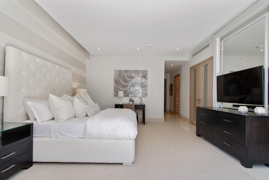 Real Estate Photography - 9501 Collins Avenue, TH-2, Surfside, FL, 33154 - Master Bedroom