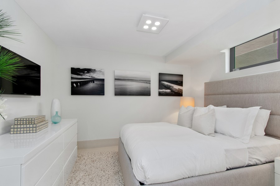 Real Estate Photography - 9501 Collins Avenue, TH-2, Surfside, FL, 33154 - Bedroom