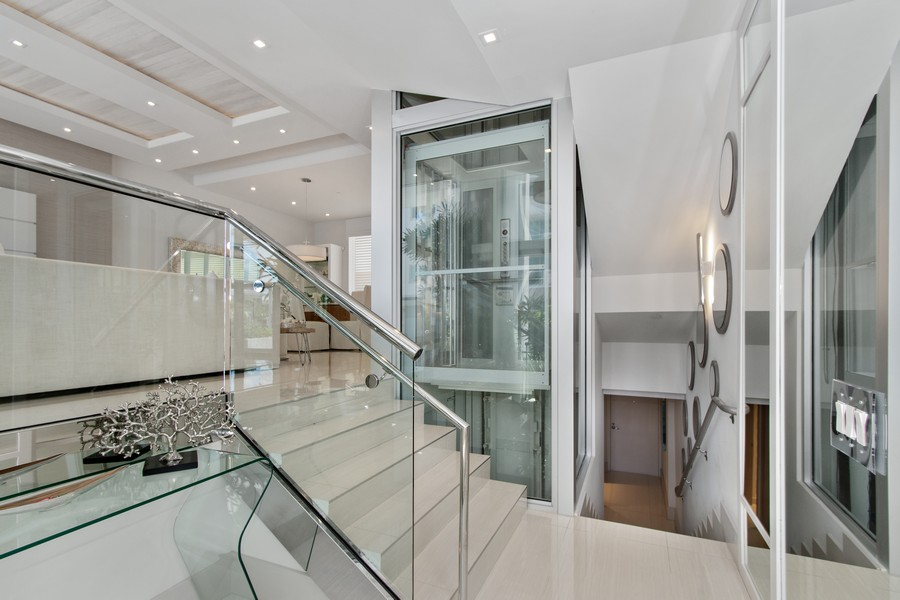 Real Estate Photography - 9501 Collins Avenue, TH-2, Surfside, FL, 33154 - Foyer