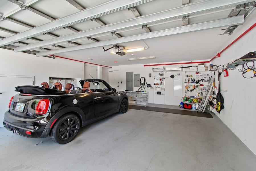 Real Estate Photography - 9501 Collins Avenue, TH-2, Surfside, FL, 33154 - Garage