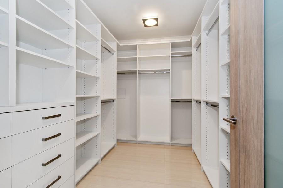 Real Estate Photography - 9501 Collins Avenue, TH-2, Surfside, FL, 33154 - Master Bedroom Closet