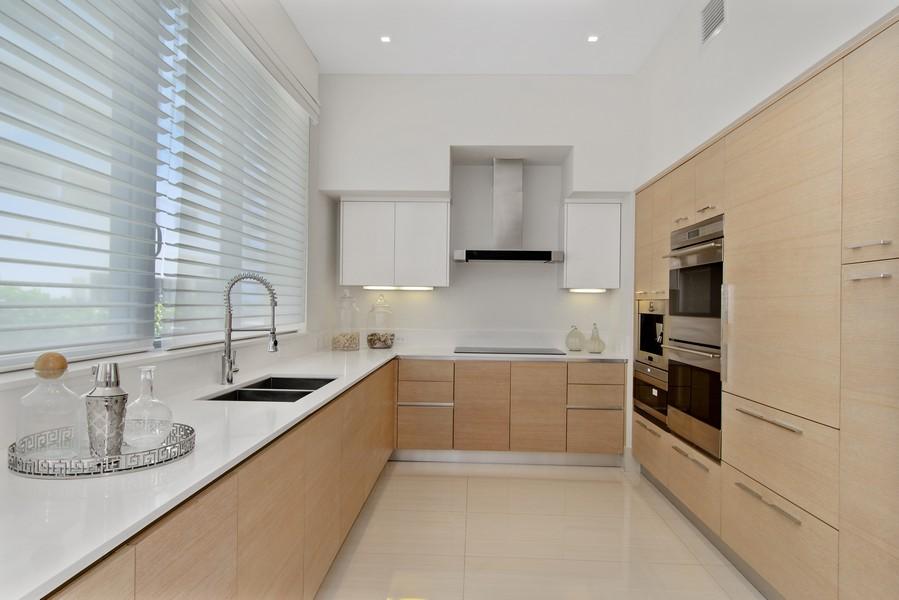 Real Estate Photography - 9501 Collins Avenue, TH-2, Surfside, FL, 33154 - Kitchen