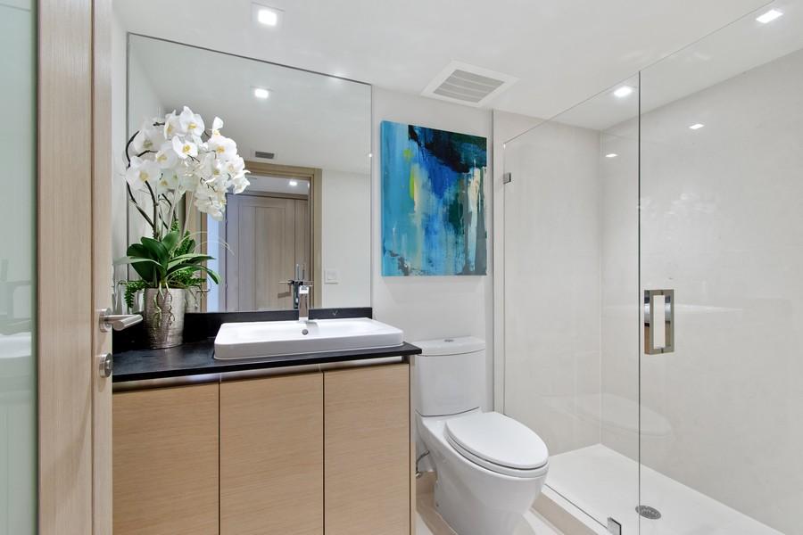 Real Estate Photography - 9501 Collins Avenue, TH-2, Surfside, FL, 33154 - Bathroom