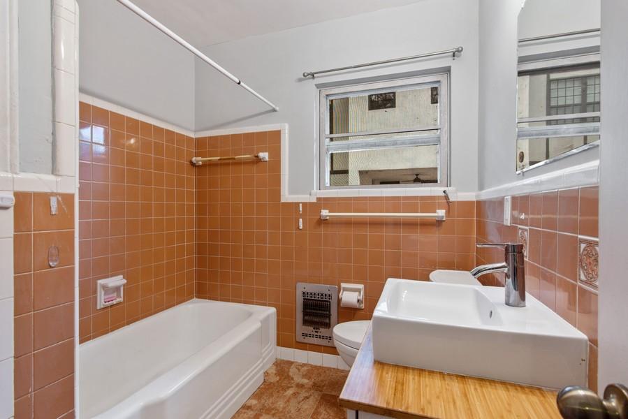 Real Estate Photography - 311 NE 86th Street, El Portal, FL, 33138 - Second/Guest Bathroom