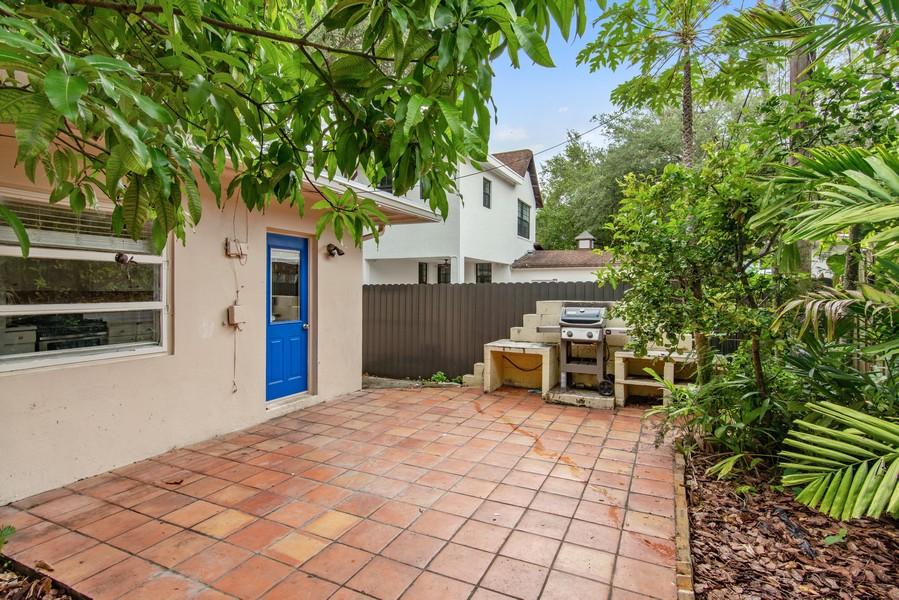 Real Estate Photography - 311 NE 86th Street, El Portal, FL, 33138 - Terrace