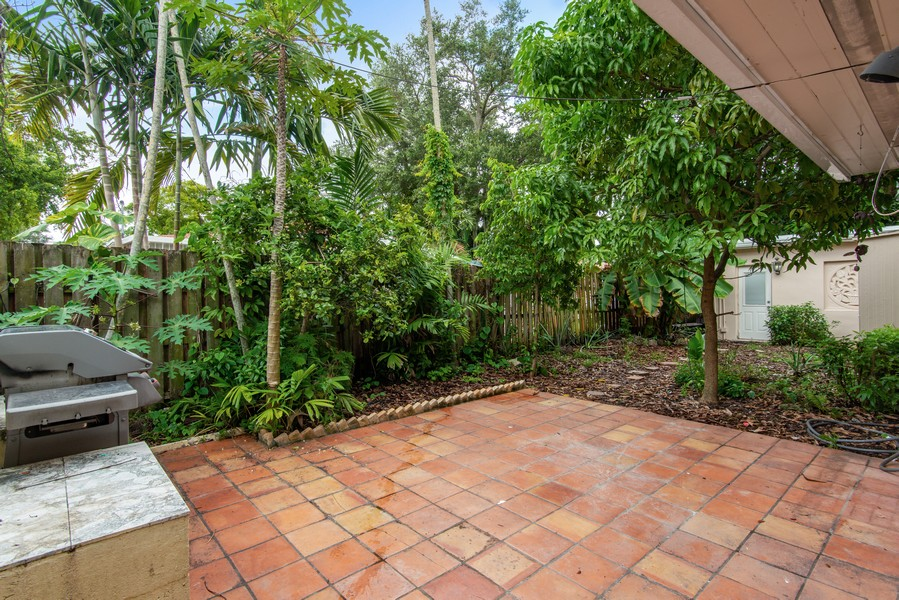 Real Estate Photography - 311 NE 86th Street, El Portal, FL, 33138 - Back Yard