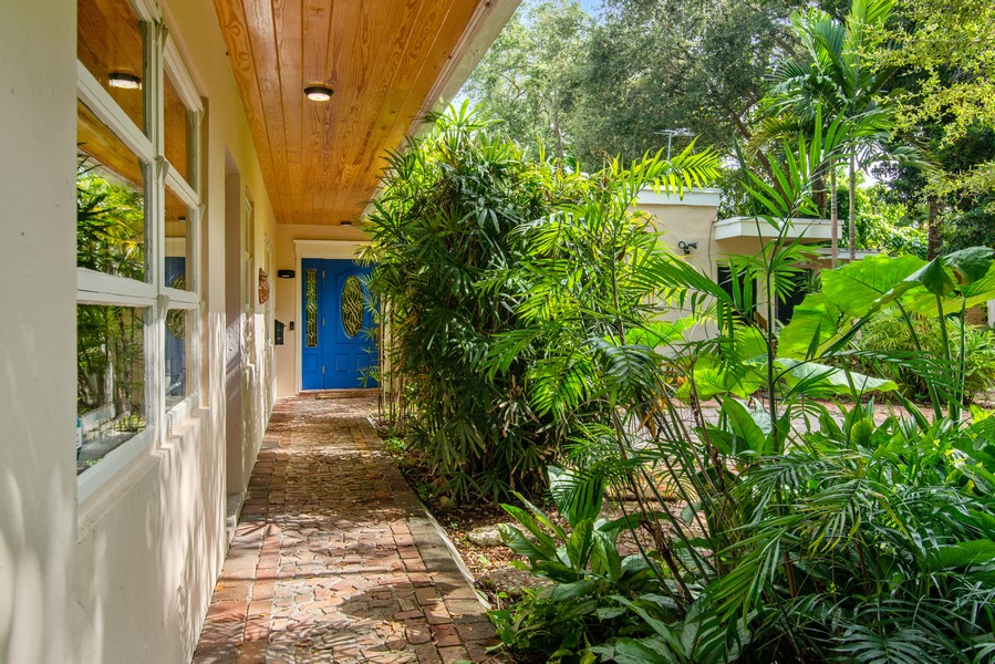 Real Estate Photography - 311 NE 86th Street, El Portal, FL, 33138 - Entrance