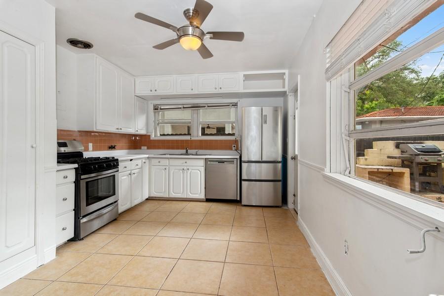 Real Estate Photography - 311 NE 86th Street, El Portal, FL, 33138 - Kitchen