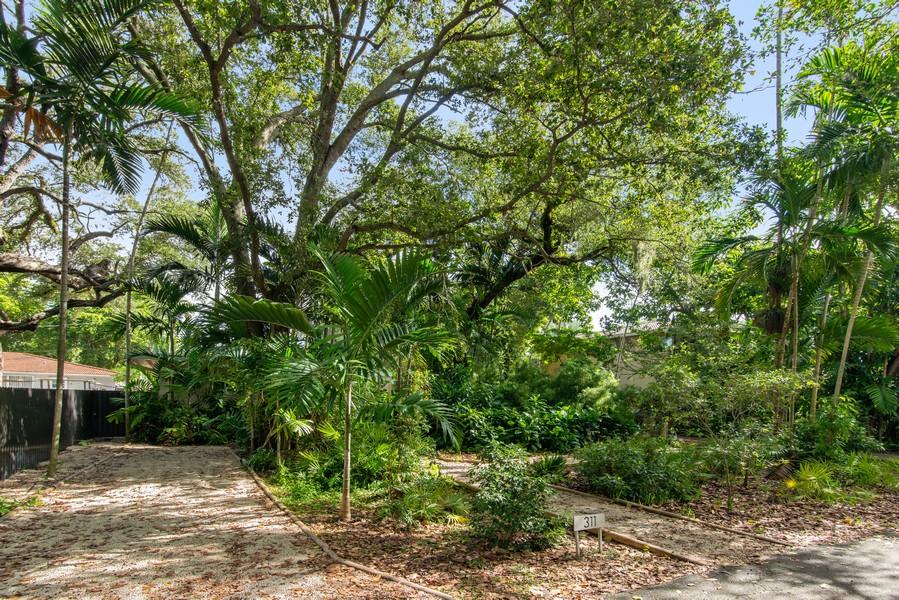 Real Estate Photography - 311 NE 86th Street, El Portal, FL, 33138 - Front Yard, Garden & Additional Driveway