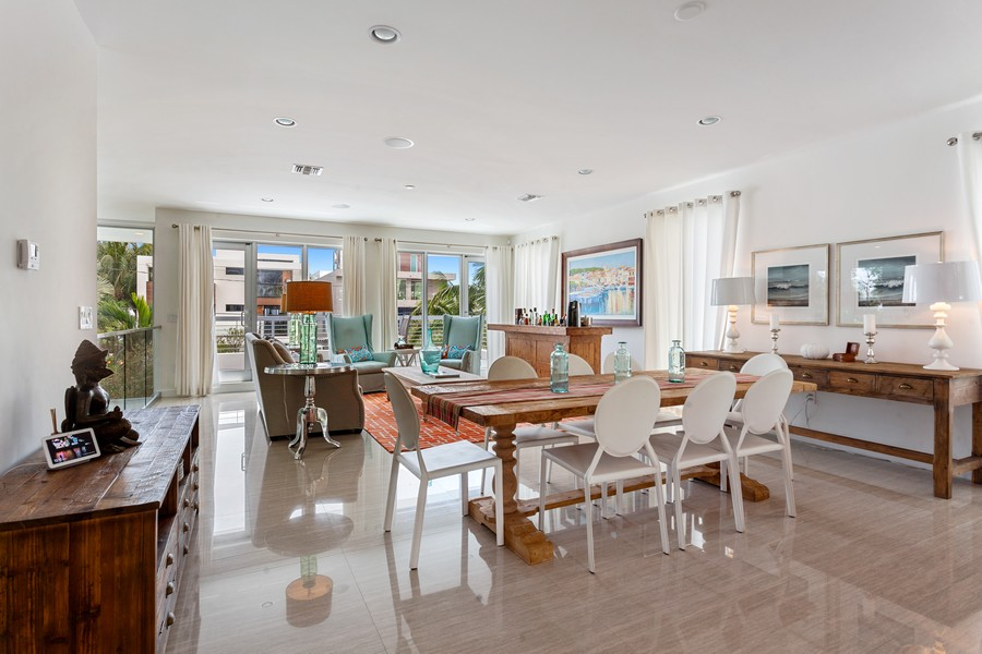 Real Estate Photography - 2401 N. Atlantic Blvd.,, Fort Lauderdale, FL, 33305 - Dining Room
