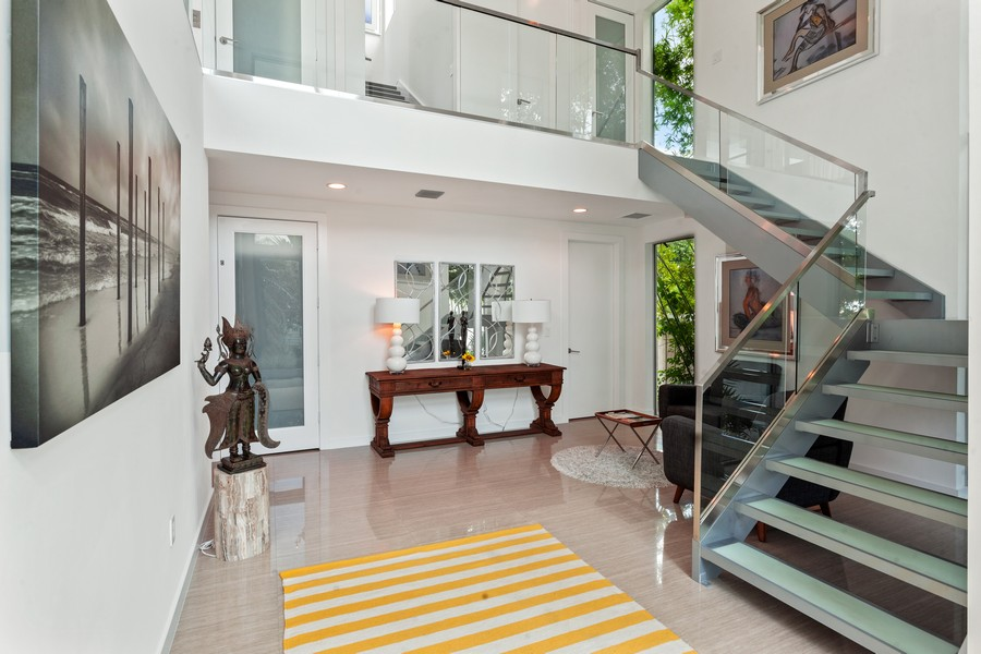 Real Estate Photography - 2401 N. Atlantic Blvd.,, Fort Lauderdale, FL, 33305 - Foyer