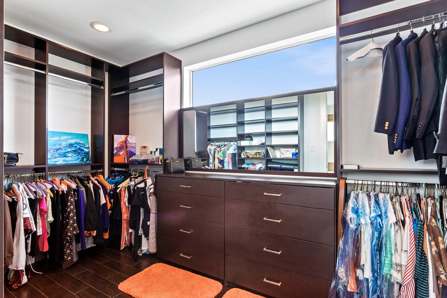 Real Estate Photography - 2401 N. Atlantic Blvd.,, Fort Lauderdale, FL, 33305 - Master Bedroom Closet