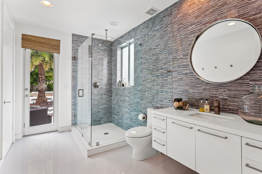 Real Estate Photography - 2401 N. Atlantic Blvd.,, Fort Lauderdale, FL, 33305 - 2nd Bathroom