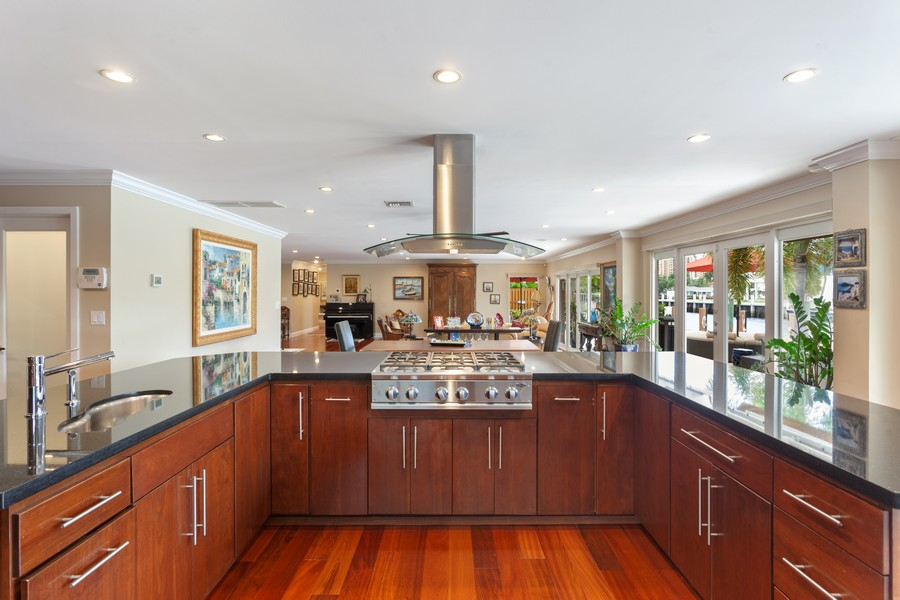 Real Estate Photography - 2864 NE 24th Place, Fort Lauderdale, FL, 33305 - Kitchen