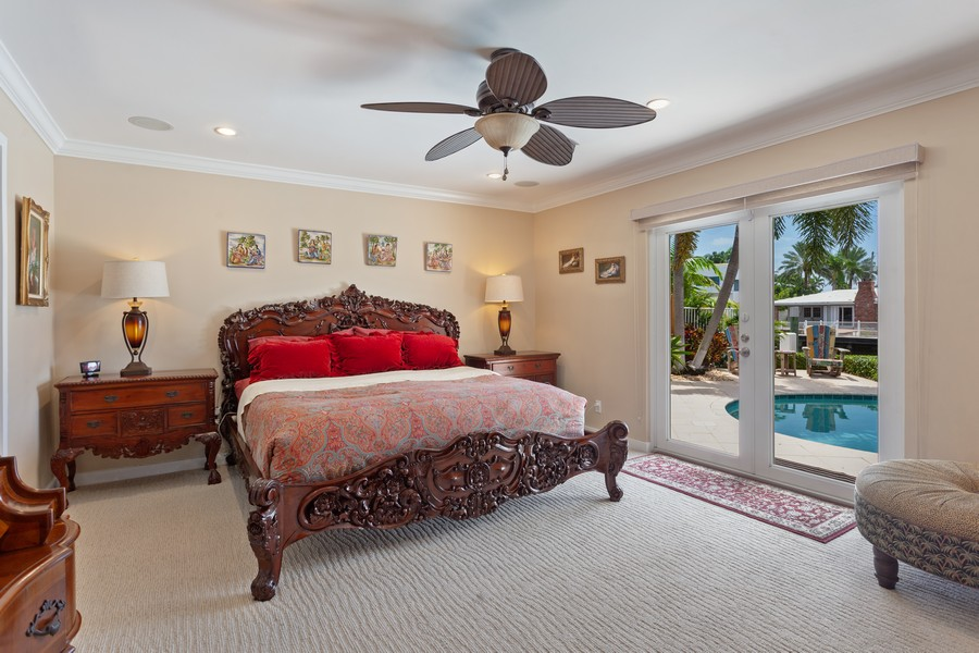 Real Estate Photography - 2864 NE 24th Place, Fort Lauderdale, FL, 33305 - Master Bedroom