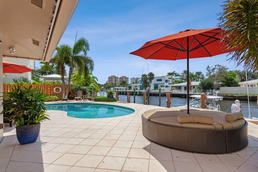 Real Estate Photography - 2864 NE 24th Place, Fort Lauderdale, FL, 33305 - Back Yard