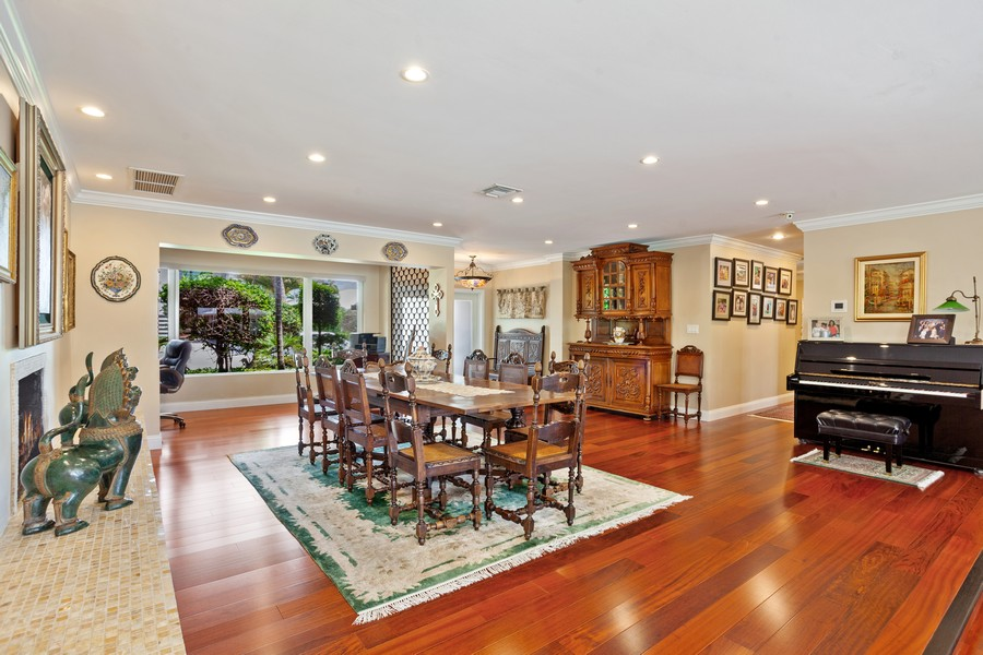 Real Estate Photography - 2864 NE 24th Place, Fort Lauderdale, FL, 33305 - Dining Room