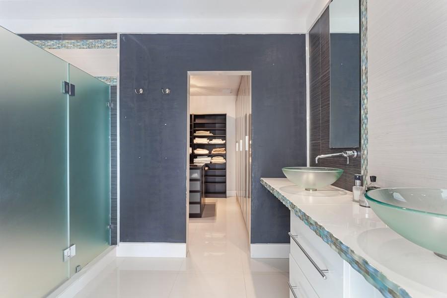 Real Estate Photography - 620 North Shore Drive, Miami Beach, FL, 33141 - Master Bathroom