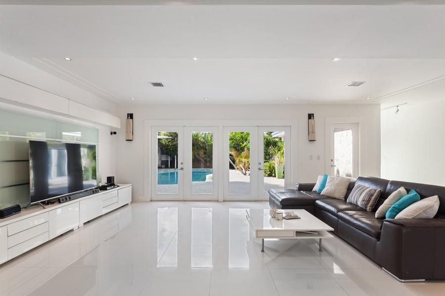 Real Estate Photography - 620 North Shore Drive, Miami Beach, FL, 33141 - Living Room