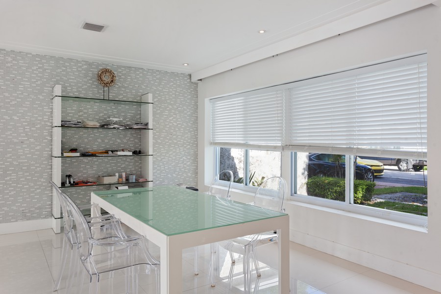 Real Estate Photography - 620 North Shore Drive, Miami Beach, FL, 33141 - Dining Room